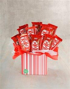gifts: Kit Kat Cluster Box!