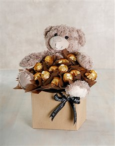 gifts: Chocolate and Hug Arrangement!