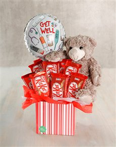 gifts: Get Well Kit and Teddy Box!