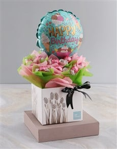 gifts: Happy Birthday Chocolate Arrangement!