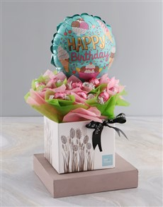 Picture of Happy Birthday Chocolate Arrangement!