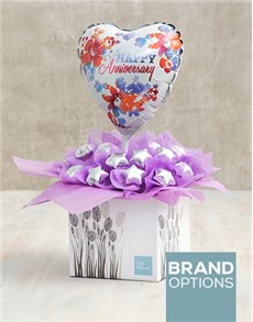 gifts: Lilac Happy Anniversary Edible Arrangement!