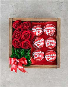 flowers: Sweetie Pie and Rose Love Crate!