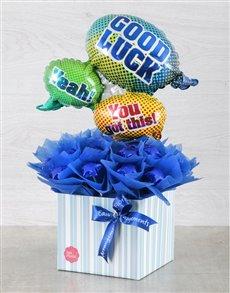 flowers: You Got This Blue Edible Arrangement!