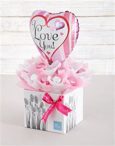 gifts: Loved Up Caramel Heart Arrangement!