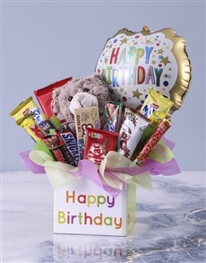 gifts: Happy Birthday Mixed Chocolate Box!