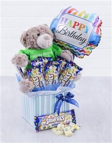 gifts: Happy Birthday Smarties Milky Bar Box!