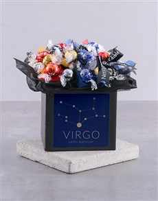 gifts: Personalised Star Sign Happy Birthday Lindt Box!