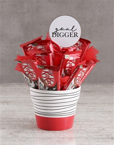 gifts: Goal Digger KitKat Arrangement!