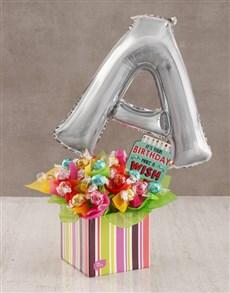 flowers: Your Birthday A Balloon Edible Arrangement!