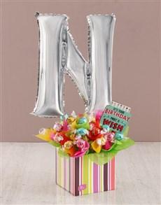 flowers: Your Birthday N Balloon Edible Arrangement!