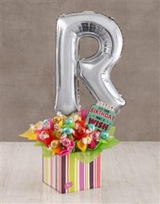 flowers: Your Birthday R Balloon Edible Arrangement!