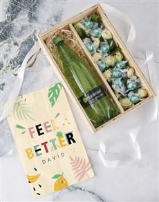 flowers: Personalised Get Well Soon Edible Arrangement!