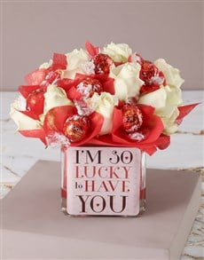 flowers: Lucky to Have You Edible Arrangement!