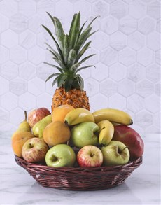 flowers: Fruit Gift Basket!