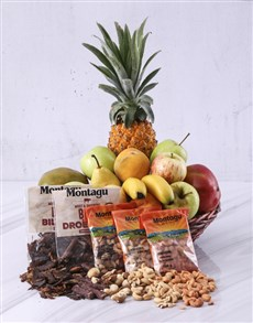gifts: Fruit and Snack Basket!