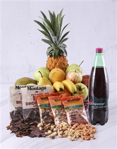 gifts: Snack Essentials Fruit Basket!