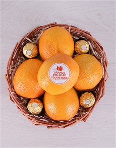 gifts: Orange You Glad Basket!