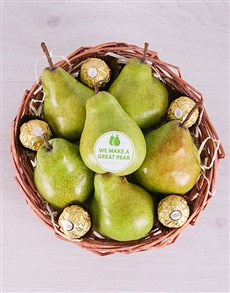 gifts: Perfect Pear Basket!