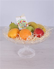 gifts: Crystal Fruit Arrangement!