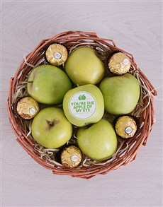 gifts: Green Apples and Ferrero Basket!