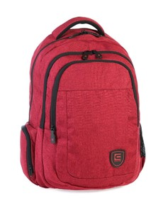 brand: Cellini Uni King Multi Pocket Backpack Red!