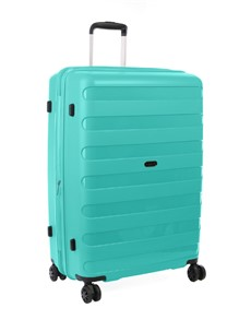 brand: Cellini Sonic Check In Wheel Trolley Green Large!