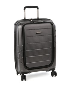 gifts: Cellini Microlite Wheel Carry On Case Metal!