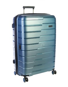 gifts: Cellini Microlite Wheel Trolley Case Blue!