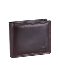 brand: Polo Kenya Licence Wallet Brown!