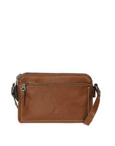brand: Polo Cairo Sling Handbag Chestnut!