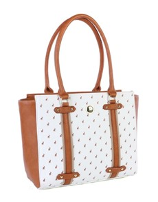 brand: Polo Heritage Tote Handbag White!