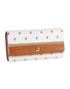 gifts: Polo Heritage Trifold Purse White!