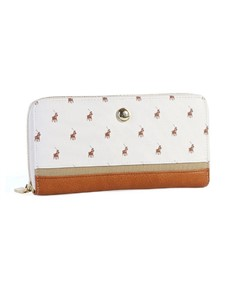 gifts: Polo Heritage Zip Around Purse White!