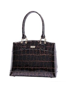 brand: Serenade Leopard Shopper Handbag Bronze!