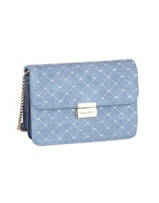 brand: Sissy Boy Printed Denim Sling Handbag Blue!