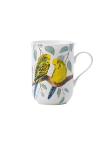 brand: Maxwell & Williams Birds Budgerigars Mug!