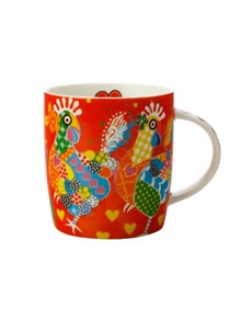 brand: Maxwell & Williams Love Hearts Mug Chicken Dance!