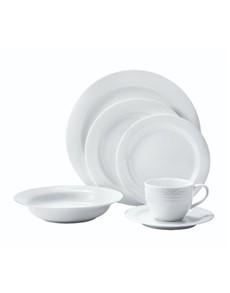brand: Noritake Arctic White Thirty Six Piece Dinner Set!
