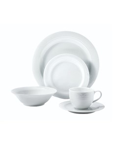 brand: Noritake Arctic White Twenty Piece Set!