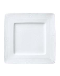 brand: Noritake Arctic White Square Plate Large!