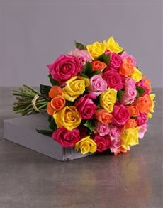 flowers: Rosey Revenge Bouquet!
