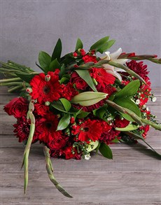 flowers: Bouquet of Red Flowers!