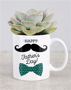 flowers: Fathers Day Succulent Mug!
