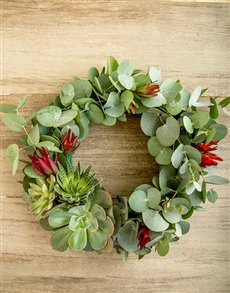 flowers: Lucky Pony Simply South African Wreath!