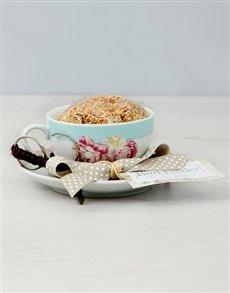 flowers: Floral Tea Cup Bird Feeder!
