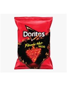 groceries: DORITOS CORN CHIPS 150, FLAMIN HOT NACHO!