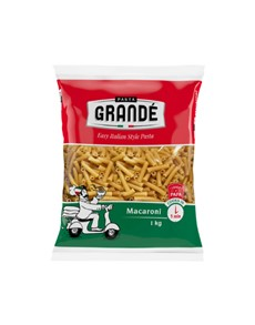 groceries: PASTA GRANDE MACARONI 1KG!