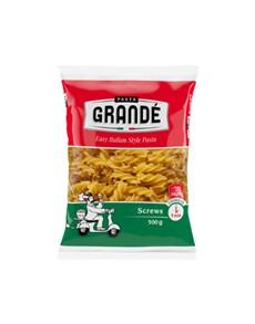 groceries: PASTA GRANDE SCREWS 500G!