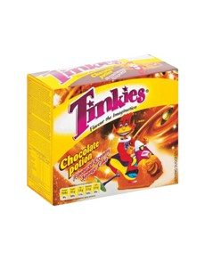 groceries: TINKIES 6S, CHOC!
